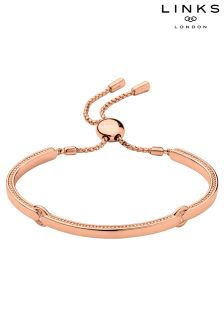 Links of London™ Narrative 18ct Rose Gold Vermeil Bracelet