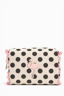 Flamingo Make Up Bag