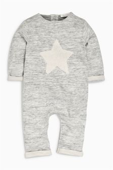 Star Jersey Romper (0mths-2yrs)