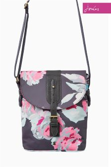 Joules Grey Beau Bloom Tourer Bag