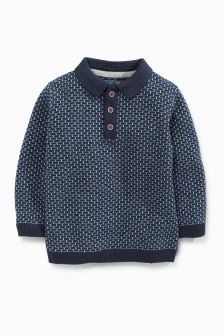 Brick Stitch Polo (3mths-6yrs)