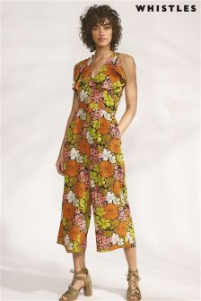 Whistles Multi Celina Tangerine Dream Jumpsuit