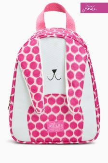 Joules Pink Buddie Bunny Bag