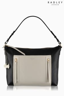 Radley® Black/Natural Northcote Road Shoulder Bag