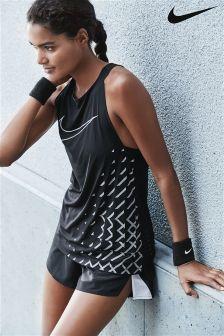 Nike Black Breathe Running Tank