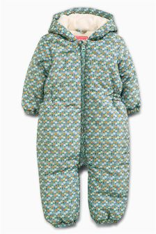 Geo Print Snowsuit (3mths-6yrs)