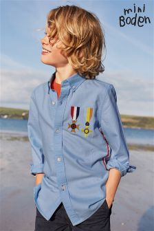 Boden Blue Bonaparte Shirt