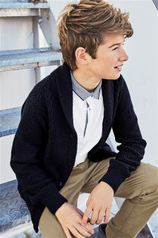 Cable Knit Cardigan (3-16yrs)