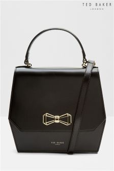 Ted Baker Black Bow Cross Body Bag