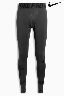 Nike Dark Grey Pro Hyperwarm Tight