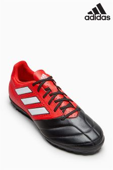 adidas Red/Black Ace Turf Football Boot