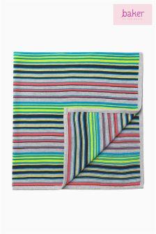 Ted Baker Green Stripe Blanket