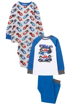 Car Pyjamas Two Pack (3-16yrs)