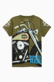 Motorbike T-Shirt (3-16yrs)