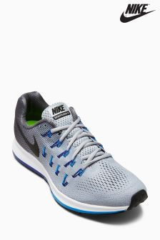 Nike Run Wolf Grey/Black Air Zoom Pegasus 33