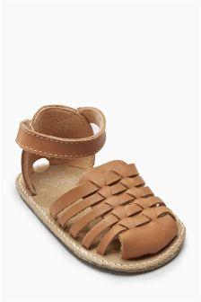 Pram Sandals (Younger Girls)