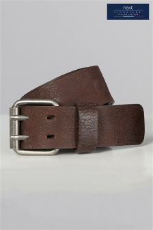 Signature Collaboration Italian Leather Casual Belt