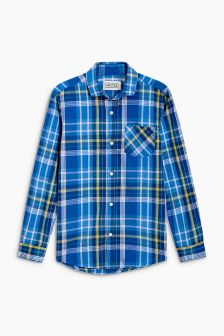 Long Sleeve Check Shirt (3-16yrs)