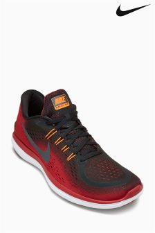 Nike Run Black/Tough Red Flex 2017