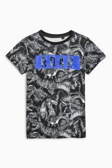 Dinosaur All Over Print T-Shirt (3-16yrs)