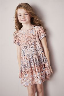 Printed Day Dress (3-16yrs)