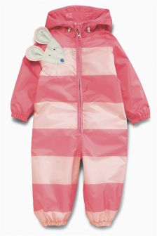 Stripe Mouse Puddlesuit (3mths-6yrs)