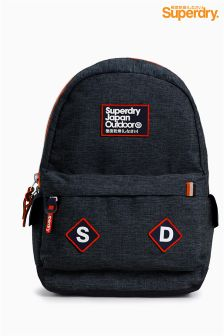 Superdry Navy Jersey Backpack