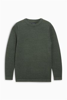 Ripple Crew Neck Jumper (3-16yrs)