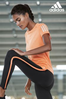 adidas Response Orange Run Tee