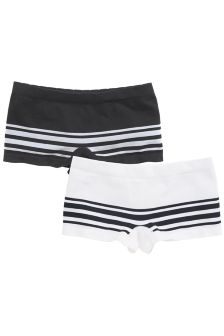 Seamfree Shorts Two Pack (3-16yrs)