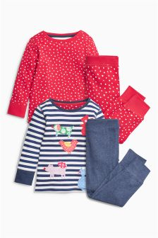 Character Snuggle Pyjamas Two Pack (9mths-8yrs)