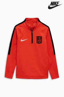 Nike Red Neymar Drill Top