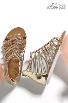 Mini Miss KG Metalic Sandal