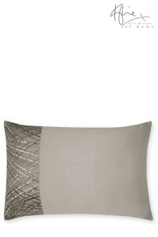Kylie Esta Silver Pillowcase