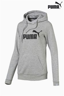Puma® Gym Grey Essential Logo Hoody