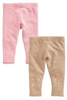 Leggings Two Pack (0mths-2yrs)