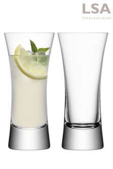 Set Of 2 LSA International Large Moya Tumbler Glasses