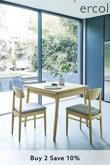 Set Of 2 Ercol Chesham Dining Chairs