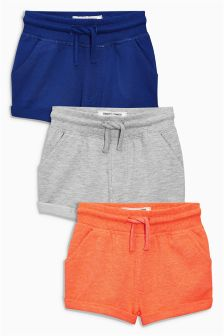 Shorts Three Pack (3mths-6yrs)