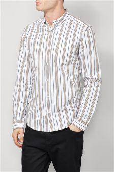 Long Sleeve Stripe Shirt