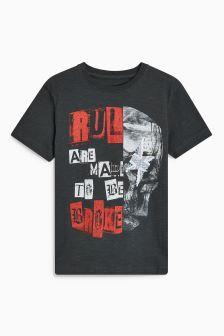 Spliced Skull T-Shirt (3-16yrs)