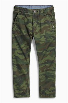 Camo Trousers (3-16yrs)