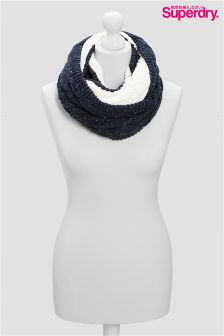 Supedry Navy Snood Scarf