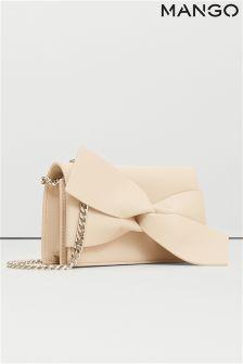 Mango Pink Knot Bag
