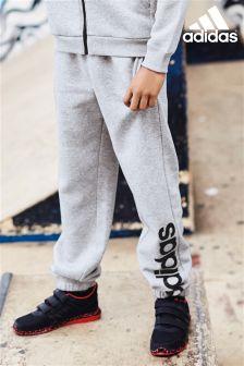 adidas Grey Linear Joggers