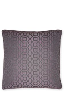 Large Woven Geo Cushion