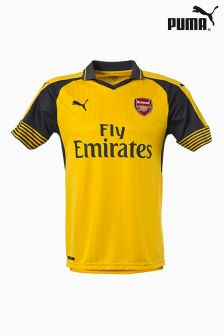 Puma® Yellow Arsenal 2016/17 Away Jersey