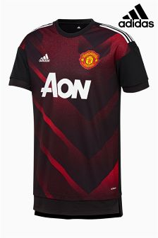 adidas Manchester United FC 2017/18 Pre-Match Jersey