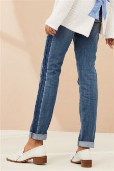 Relaxed Shadow Side Seam Jeans