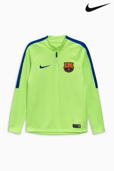 Nike Green FC Barcelona Drill Top